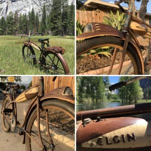 1936 Elgin Robin Original Paint