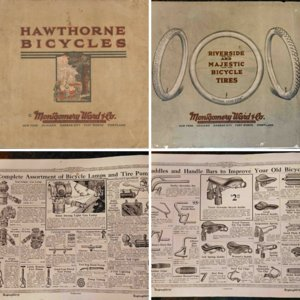 Hawthorne Bicycles Catalog -Montgomery Ward