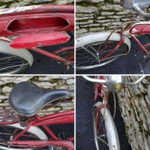 1937 Mercury Pod Bike