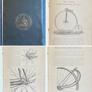 1890 Victor Bicycle Catalog
