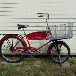 '50 Large Basket - This was bought from a member here, and is a gas to ride.