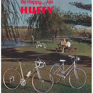 1966 Huffy Dealer Catalog Front Cover