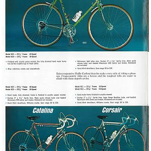 1966 Huffy Dealer Catalog Page 1