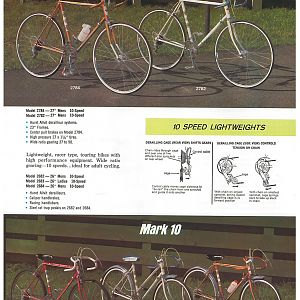 1966 Huffy Dealer Catalog Page 2