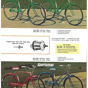 1966 Huffy Dealer Catalog Page 4