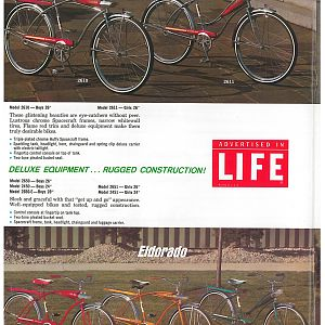 1966 Huffy Dealer Catalog Page 5