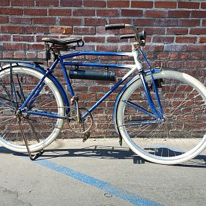 1920's  $399 Frame, Fork, Fenders and rods  (Sold Complete)  :)