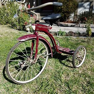 Large Elgin Racer Tricycle $399 SOLD