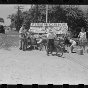 Fourth of July roadside stand near Watertown Wi. 1941