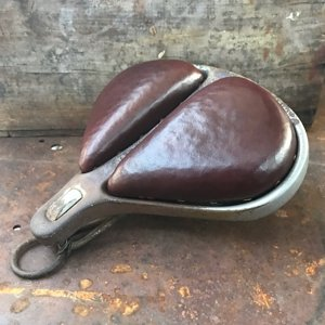 Christy Saddle, sympathetic restoration, horsehair padding