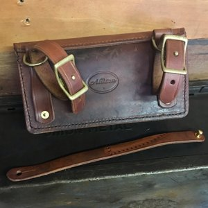 Suïssa Gran made from reclaimed vintage rifle scabbard