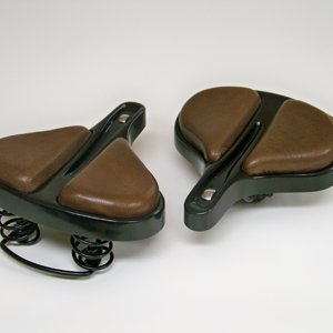 Pair of TRM Christy Saddles 2