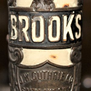 1941 Schwinn Brooks badge
