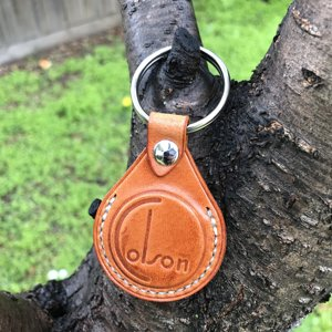 colson english bridle key fob