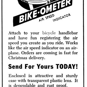 Bike-ometer   Dec 1945 Popular Science