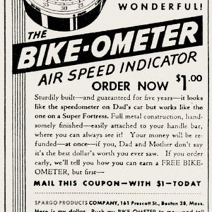 Bike-ometer   Oct 1945 Boys Life