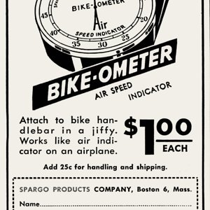 Bike-ometer   Dec 1945 Popular Mechanics
