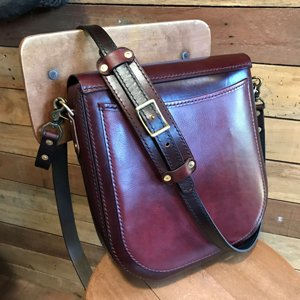 large latigo messenger bag