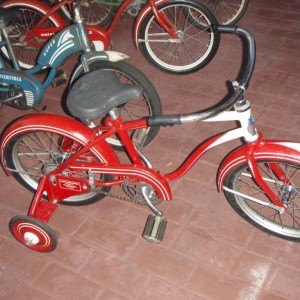 ",49 Boys Huffy Convertible 16"",  Looking for the girls model"