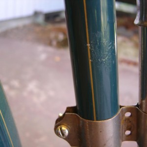 scratches on seat tube