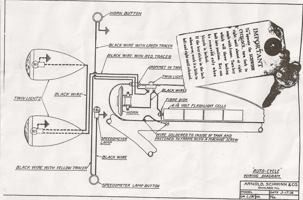 flashlight wiring diagram auto cycle wiring diagram 03 17 36 the classic and antique  auto cycle wiring diagram 03 17 36