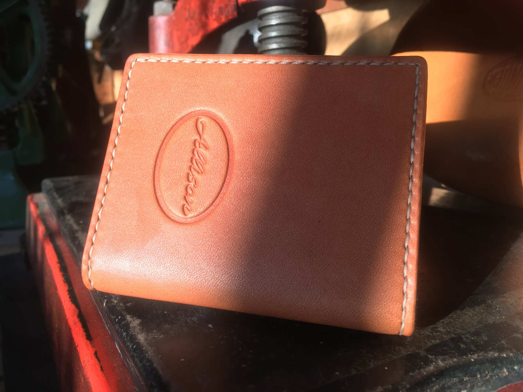 English Bridle Half-Wallet