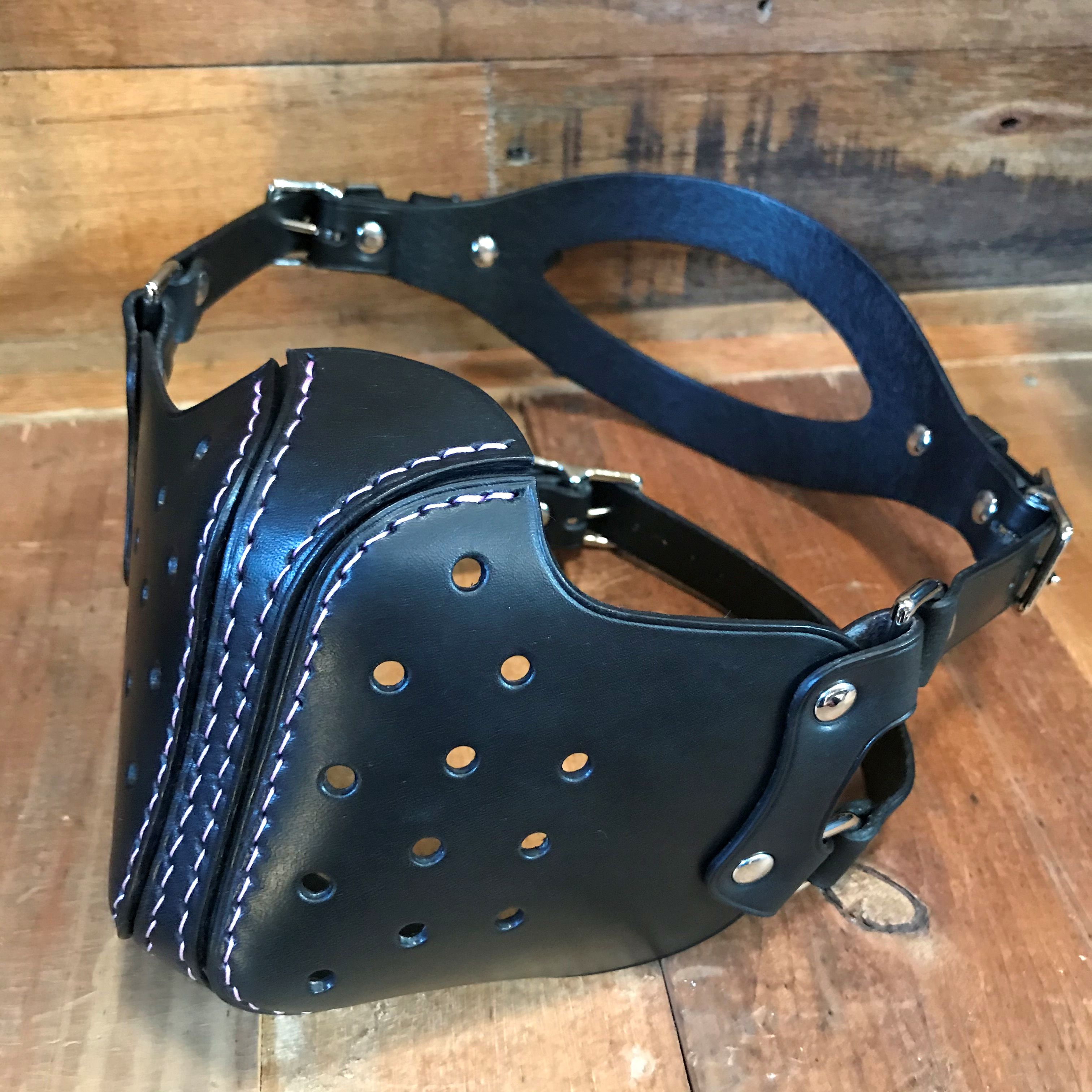 english bridle motorcycle mask