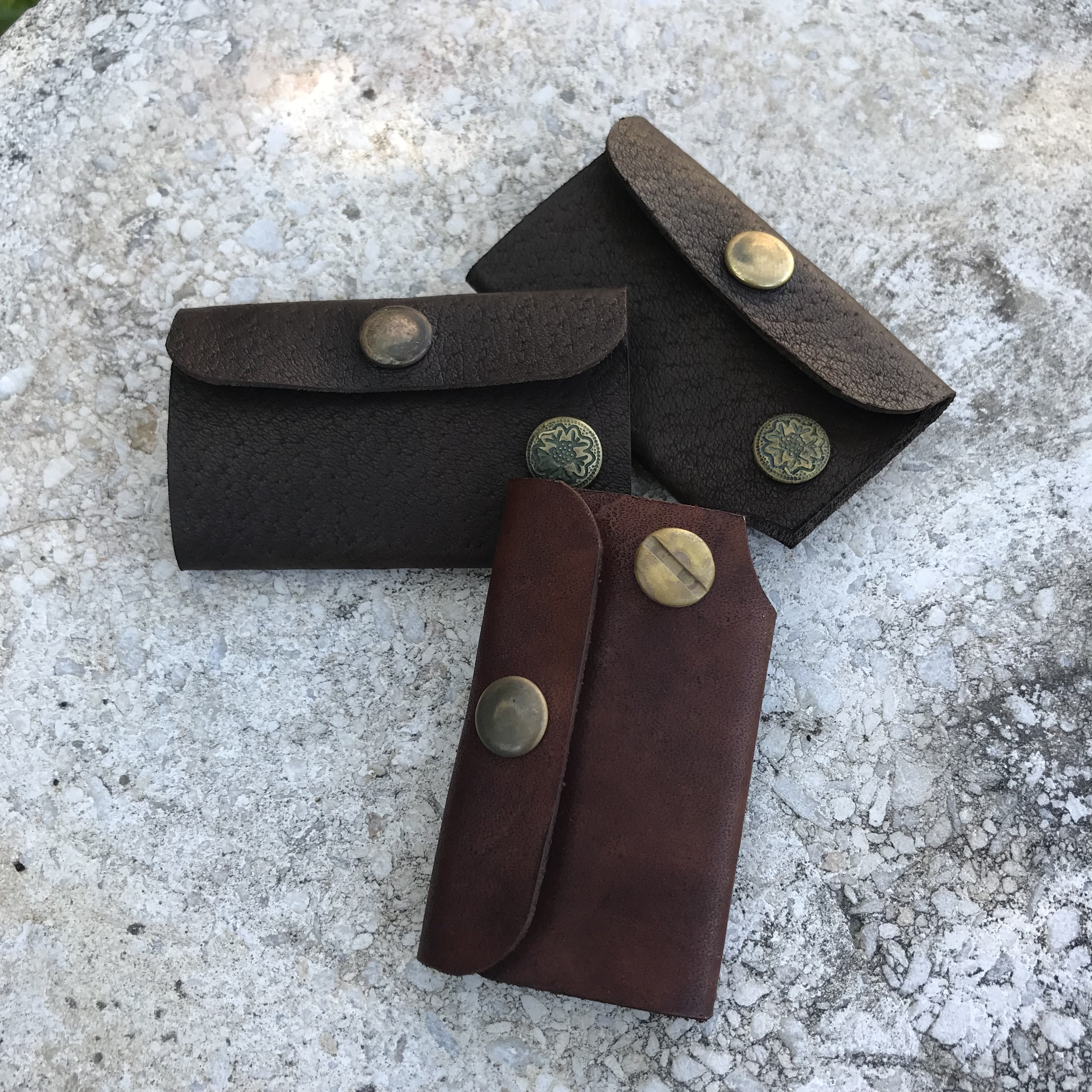 Glendora Key Cases with Patina'd Hardware